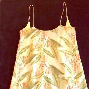 NWOT Tommy Bahama midi silk dress